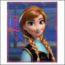 Comment Anna a-t-elle eu sa mèche blanche ?