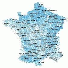 Saurez-vous situer ces communes ? ( 1798 )
