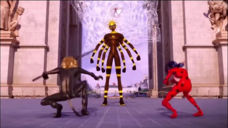 """""""Anansi"""" est une super-vilaine avec les capacités d'une araignée. Dans une légende de l'Antiquité, quelle déesse a transformé une certaine Arachnée en araignée ?"""