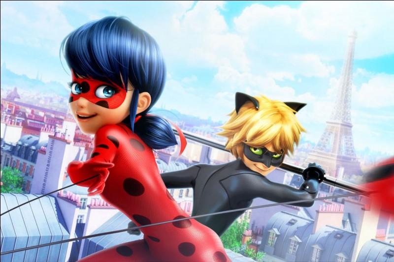 """""""Ladybug"""" est une super-héroïne sur le thème de la coccinelle, un insecte qui a pour ennemies naturelles..."""