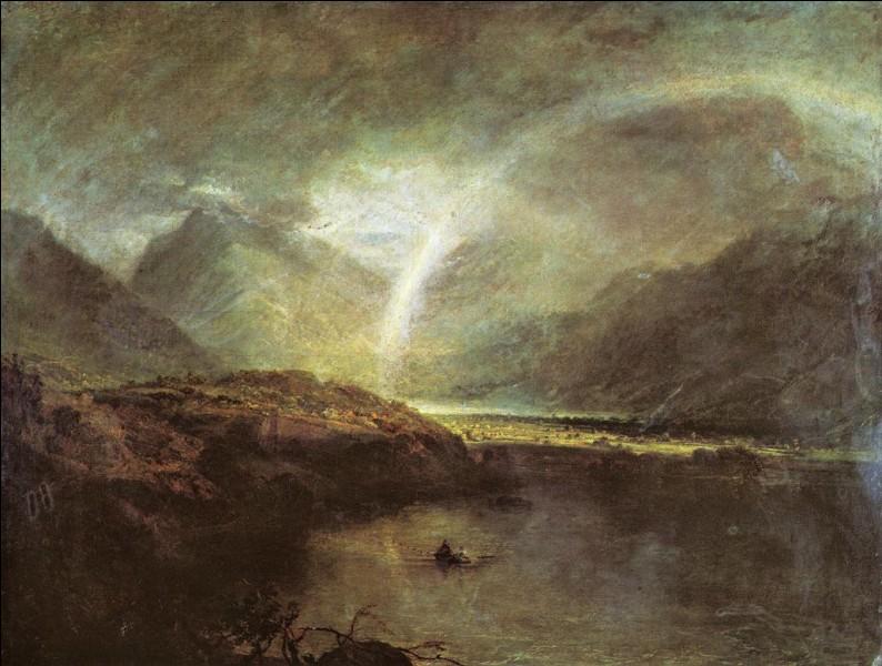 """Quel peintre romantique anglais est l'auteur du tableau """"Lac Buttermere"""" ?"""