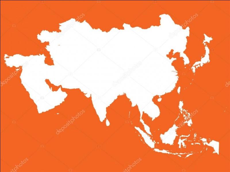 Combien y a-t-il de pays en Asie ?