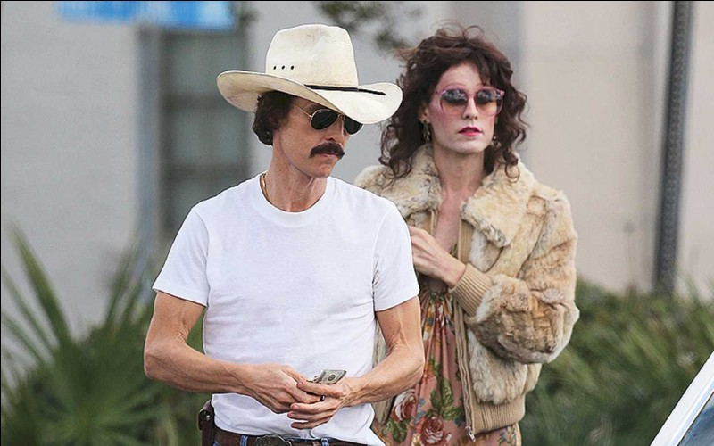 """Dallas Buyers Club"" est film joué par Mathew McConaughey."