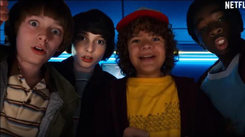 Comment s'appellent les 4 garçons ?