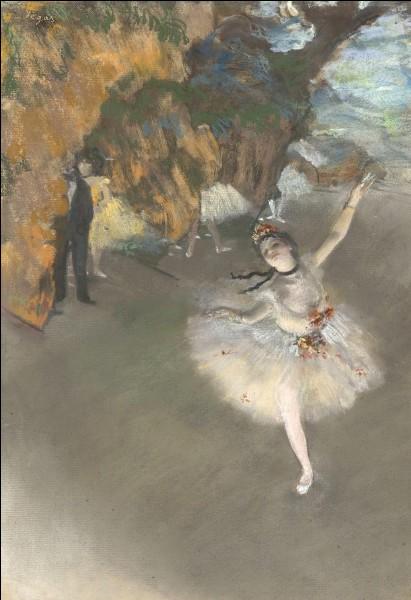 Quel artiste représentait souvent des danseuses dans ses tableaux ?