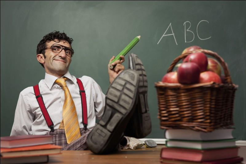 Choisis un professeur :
