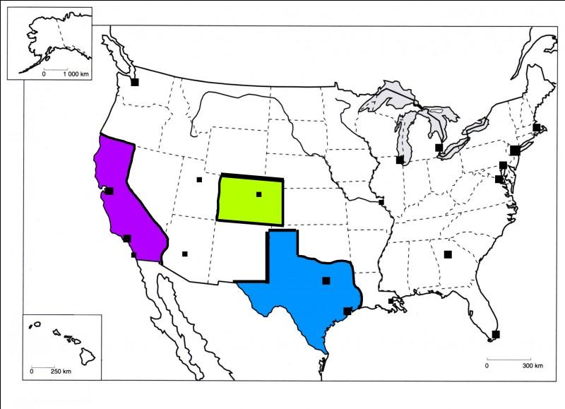 Où se trouve le Texas ?