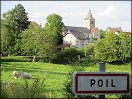 Pour ceux qui ont chaud, nous partons à Poil. Commune bourguignonne, elle se situe dans le département ...