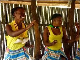 Langue bantoue parlée par un peuple d'Afrique du Sud :