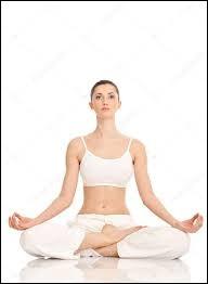 Comment se nomme cette position de Yoga ?