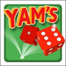 Avec combien de dés joue-t-on au Yam's ?