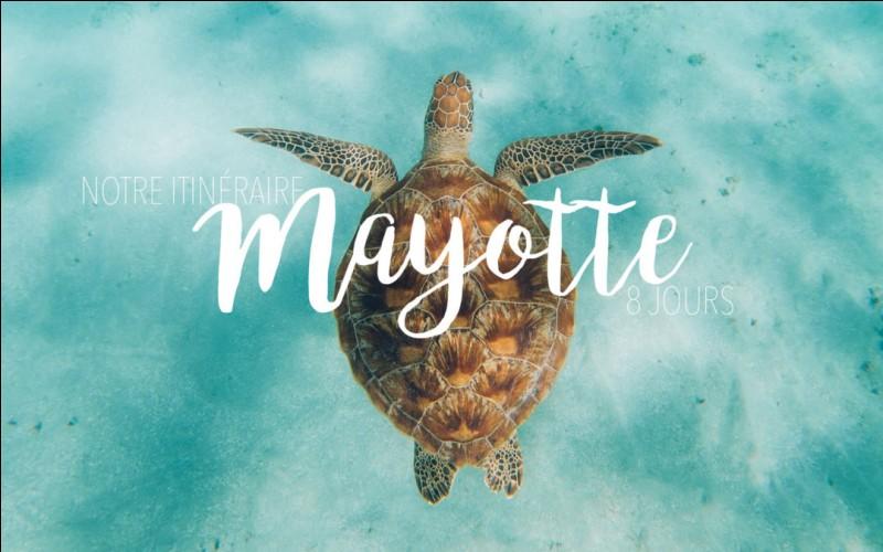 L'île de Mayotte est située dans l'océan Atlantique.