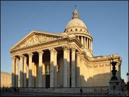 Quel est cet édifice néo-classique qui abrite de grandes personnalités françaises, comme Jean Jaurès, Voltaire ou Emilie Zola ?