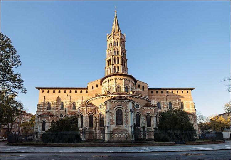 Comment s'appelle cette basilique de Toulouse ?
