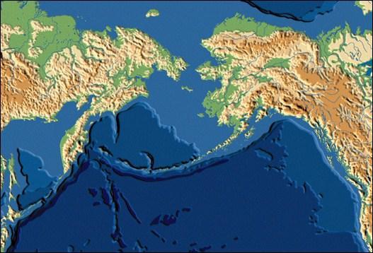 Quel détroit sépare l'Alaska de la Russie ?