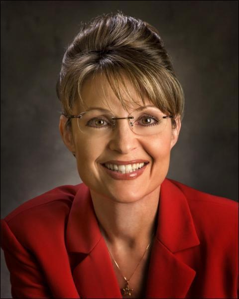 Quelle fut cette femme gouverneur ayant été choisie par John McCain pour être sa colistière lors des élections présidentielles de 2008 ?
