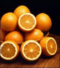 À quel groupe appartient l'orange ?