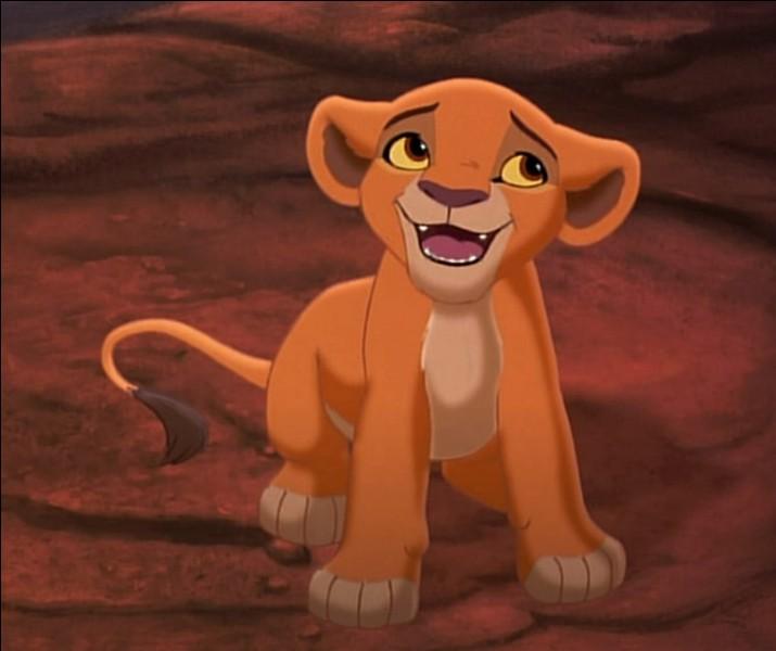 Dans ''Le Roi Lion 2'', qui aime Kiara ?