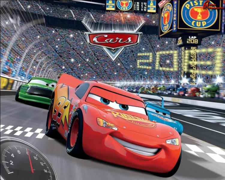 Dans ''Cars 1'' qui gagne la dernière course ?