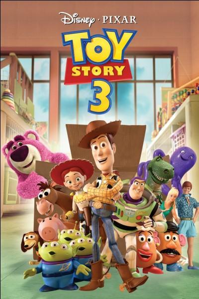Dans ''Toy Story 3'' qui retrouve Andy accroché à un arbre ?