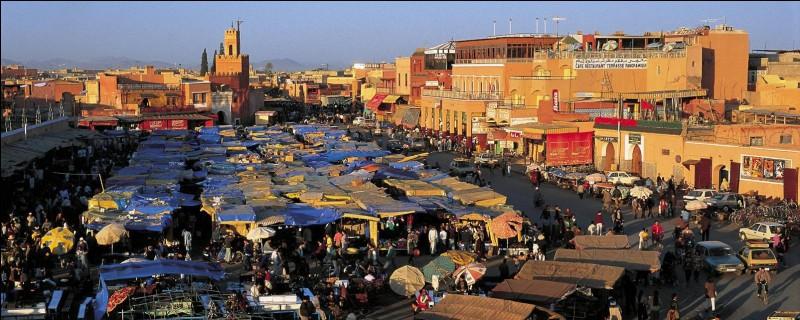 Où se situe Marrakech ?