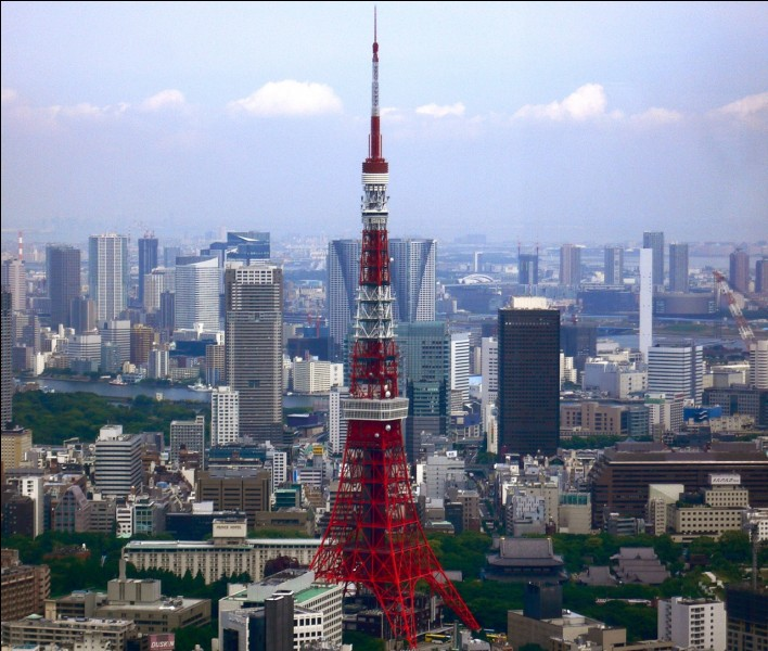 Où se situe Tokyo ?