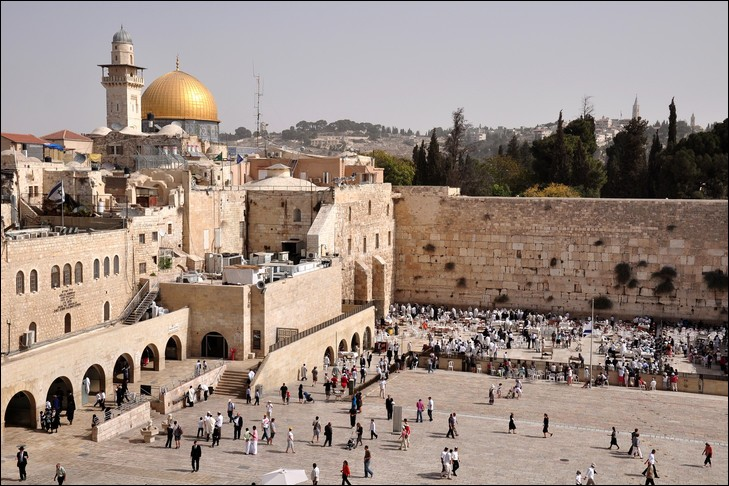 Où se situe Jérusalem ?