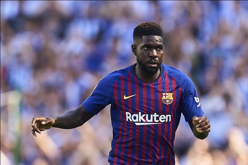 Défenseur central à Barcelone je suis né le 14 novembre 1993 à Yaoundé, j'ai marqué le seul but de la demi-finale contre la Belgique.