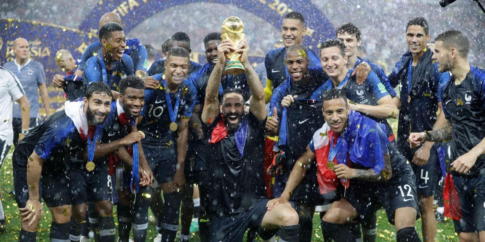 Les 23 Français champions du monde