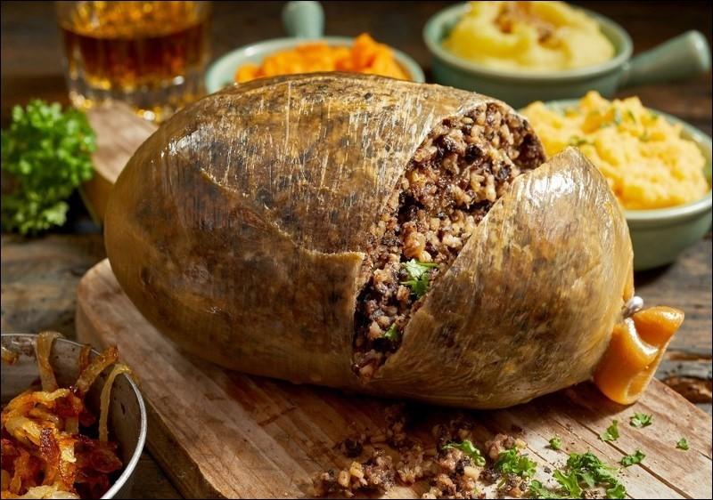 Haggis : panse de mouton farcie Bannock : pain, mélange de farine et d'eau qui n'a besoin ni de pétrissage, ni de repos. Quel est le pays d'origine de ces deux plats ?