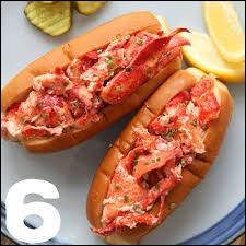 Maine lobster roll : mélange de chair de homard, de concombre, de mayonnaise, le tout dans un pain à hot-dog. Tarte à la citrouille : tarte au potiron, lait concentré et cannelle. Quel est le pays d'origine de ces deux plats ?