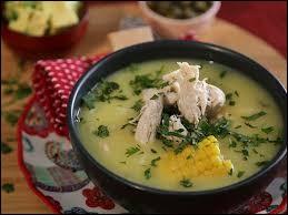 Ajiaco : soupe de pommes de terre, maïs, avocat, crème épaisse et câpres. Ceviche : fruits de mer ou poissons cuits dans une marinade et servis froids. Quel est le pays d'origine de ces deux plats ?