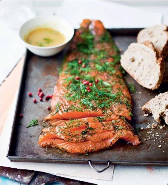 Saumon gravlax : filet de saumon marinés pendant quelques jours auquel on ajoute aneth, sucre, baies rose, vodka..Kalops : ragoût de bœuf avec carottes et anethQuel est le pays d'origine de ces deux plats ?