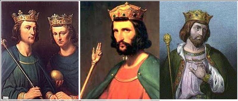 On sait que, durant la dynastie des Mérovingiens, plusieurs rois régnèrent simultanément sur la France (en partie ou en totalité).A votre avis, y-a-t-il eu simultanément plusieurs rois sur le même territoire ET en même temps ?