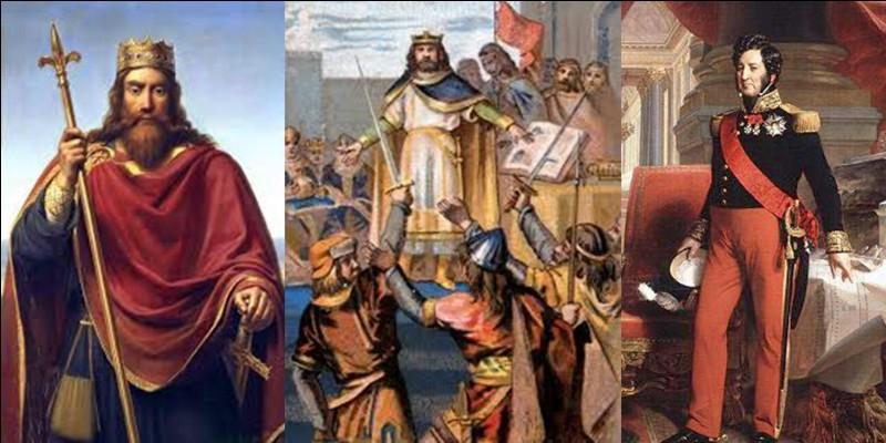 Mort du roi, toujours !Parfois, une dynastie s'éteint. C'est le cas de la dynastie des Carolingiens qui s'éteint avec la mort de Louis V qui n'a pas eu d'enfant !Comment a-t-on désigné le nouveau roi, Hugues Capet.