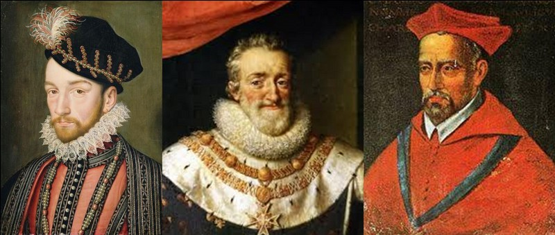Et encore une fois, on parle de la mort du roi !Parfois, lorsque la mort du roi provoque une fin de dynastie, il y a des tentatives de « coup-d'Etat » contre le roi légitime. On emploie la violence, la guerre… On le voit avec la mort d'Henri III et les problèmes qu'Henri IV rencontra pour régner !Qui devait régner à la place d'Henri IV suivant les opposants à ce roi ?