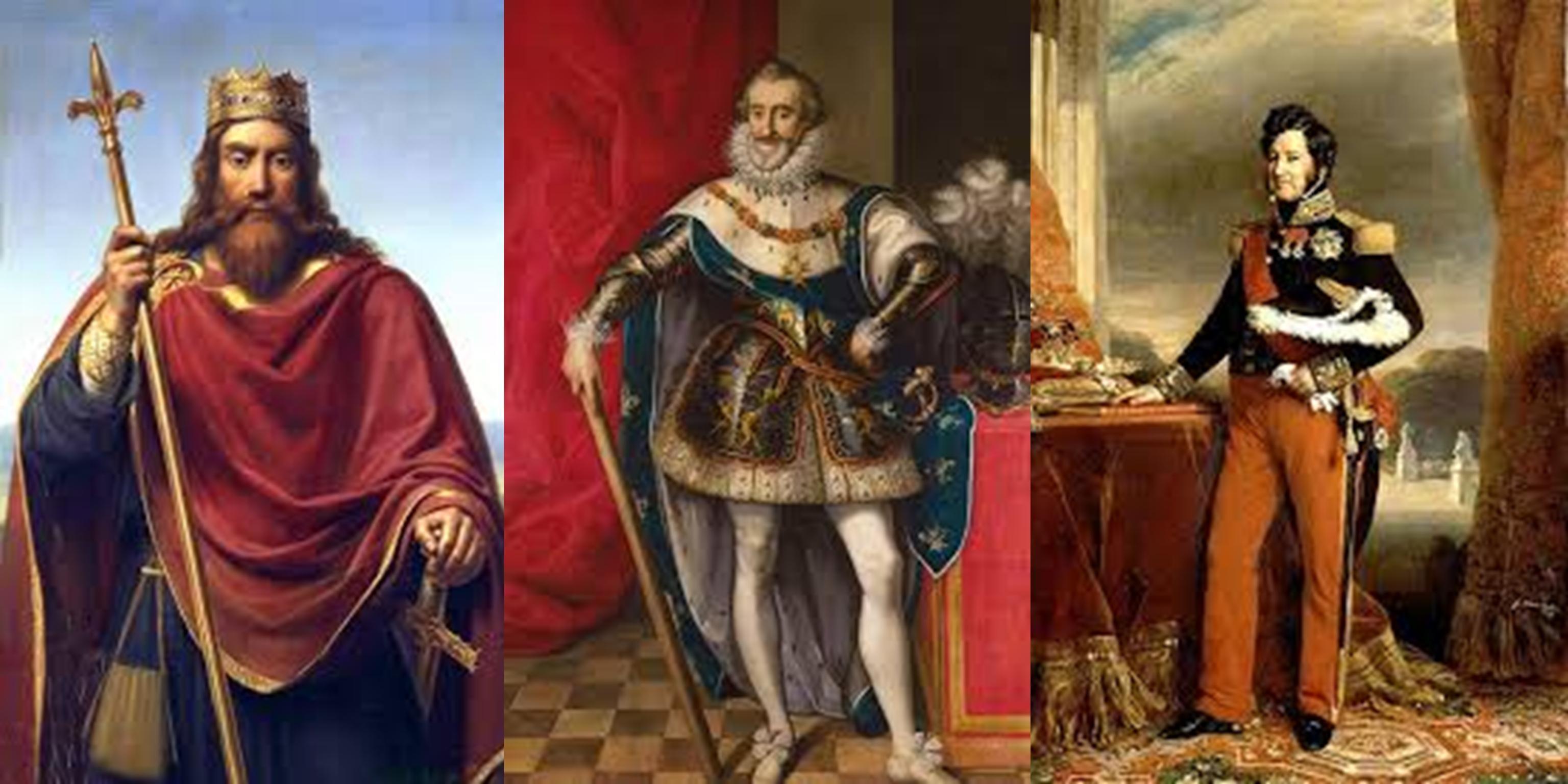 Les rois ; empereurs, présidents en France – Lois fondamentales du royaume !