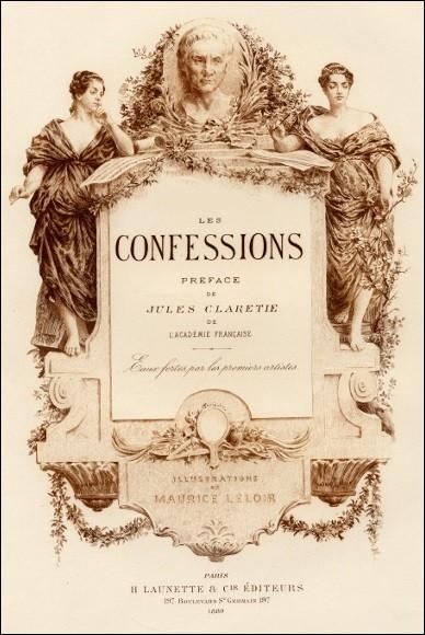Qui a écrit ''Les Confessions'' ?