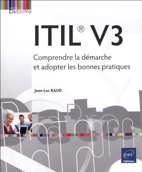 Lequel de ces livres ne fait pas partie du référentiel ITIL V3 ?