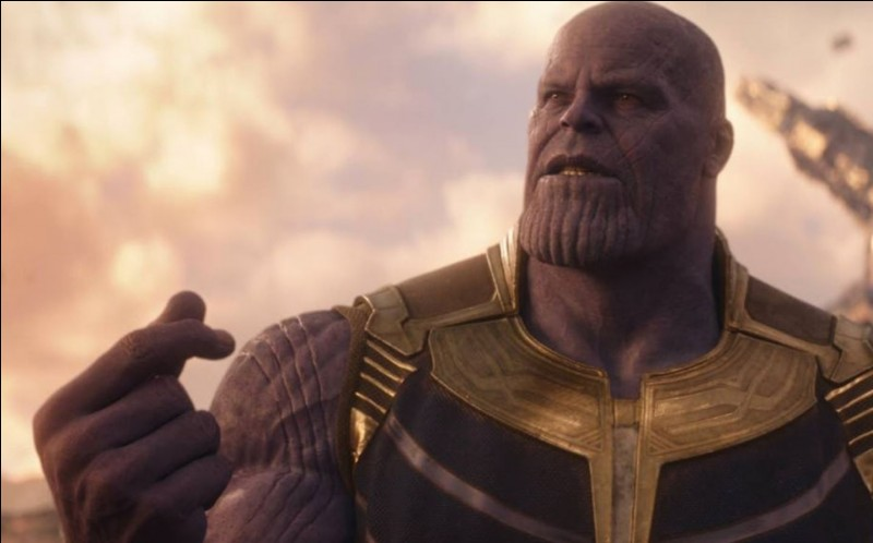 Combien Thanos a-t-il d'alliés ?