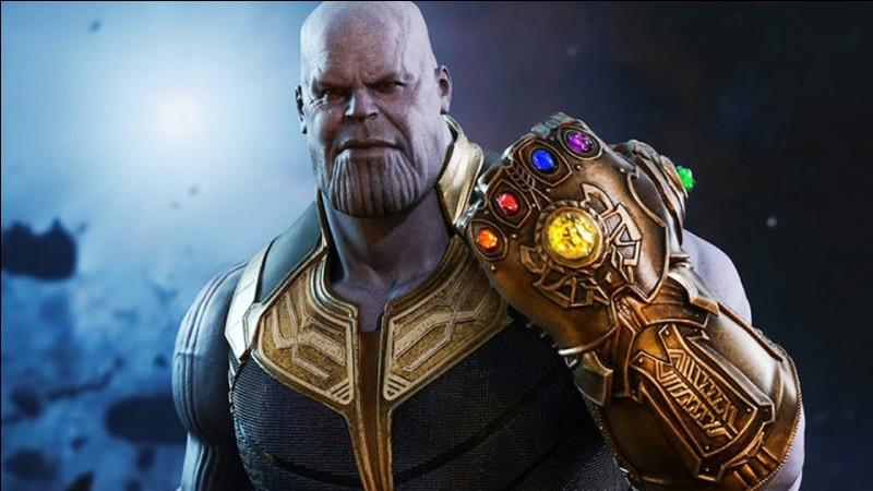 Quelle est la dernière Pierre que Thanos récolte ?