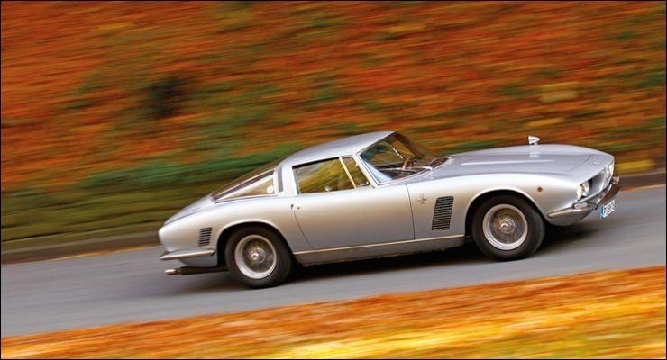 Cette sportive italienne, équipée d'un V8 Chevrolet, produite entre 1965 et 1974, est une ...