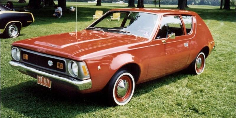 Cette voiture deux portes, produite aux États-Unis et au Canada entre 1970 et 1978, est une ...