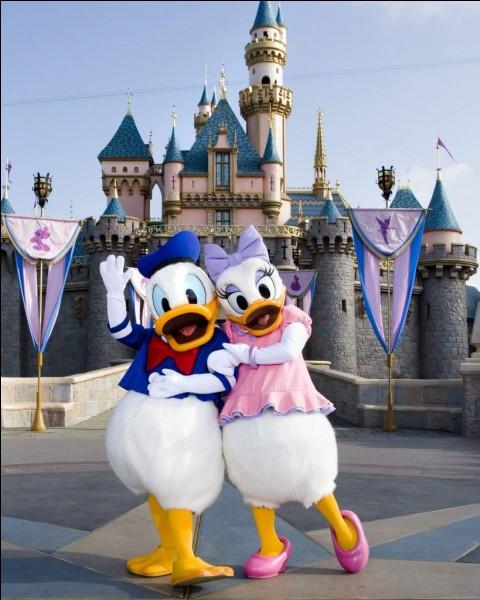 Qui est la copine de Donald ?