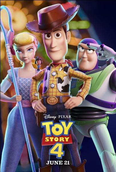 A la sortie de Toy Story 4, comment s'appelle le nouveau compagnon que les jouets d'Andy (ils sont devenus les jouets de Bonnie dans Toy Story 3) vont rencontrer ?