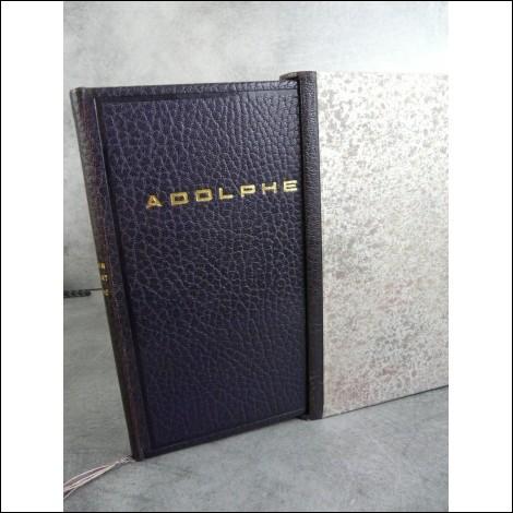 Qui a écrit ''Adolphe'' ?