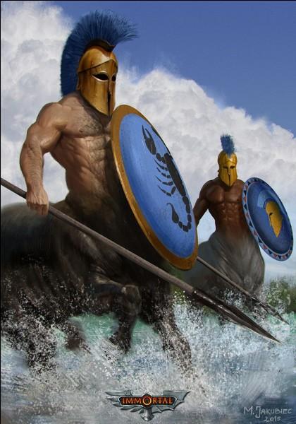 Ces deux-là furent les premiers centaures osant entrer pour agresser le centaure Pholos accueillant Héraclès lors de la chasse du sanglier d'Érymanthe. Furieux le héros les fracassa à coups de torches. Qui sont-ils ?