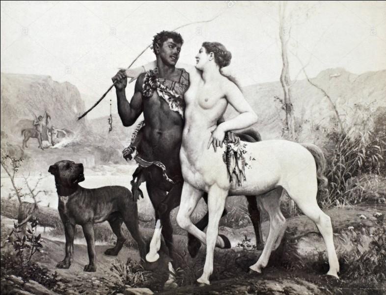 D'une autre origine, ce centaure bienveillant fils de Silène, s'enfuit au combat des Lapithes, reçoit Héraclès et meurt accidentellement. Qui est-il ?