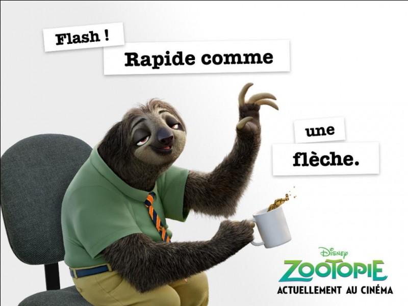 Dans ''Zootopie'' que veut demander Judy à Flash ?