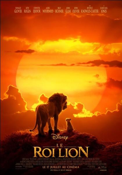 Dans ''Le Roi Lion'' de quel côté du visage est la cicatrice de Scar ?